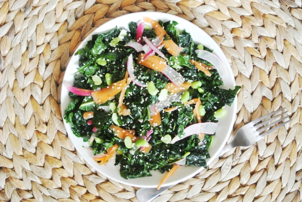 Asian Chopped Kale Salad