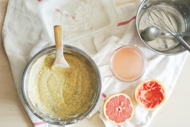[Shanghai Spice] Grapefruit Poppy Seed Bread