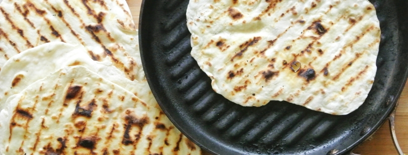 [Shanghai Spice] Easy Grilled Naan
